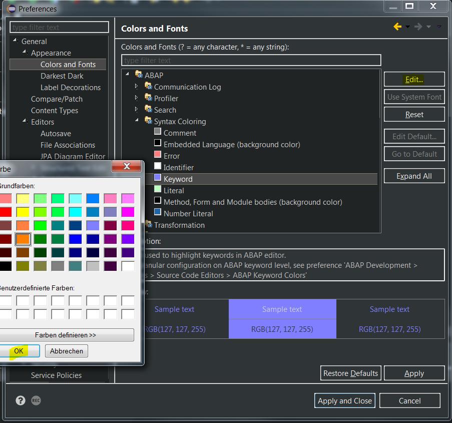 Darkest Dark Theme for Eclipse with ADT | SAP Blogs