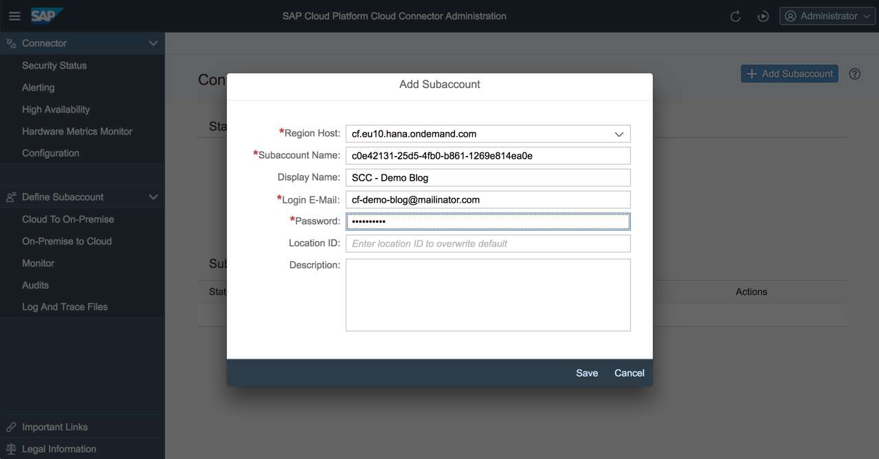 Part 1: How to use SAP Cloud Platform Connectivity and Cloud