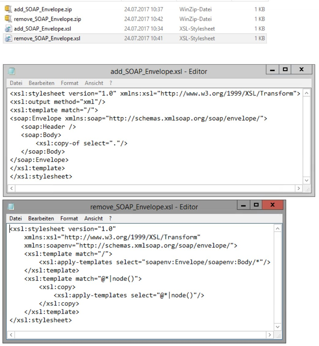 Custom headers with soap xslt http adapter sap blogs put each file in a zip container and import it as imported archive object in your enterprise service repository in a software component and namespace of baditri Choice Image