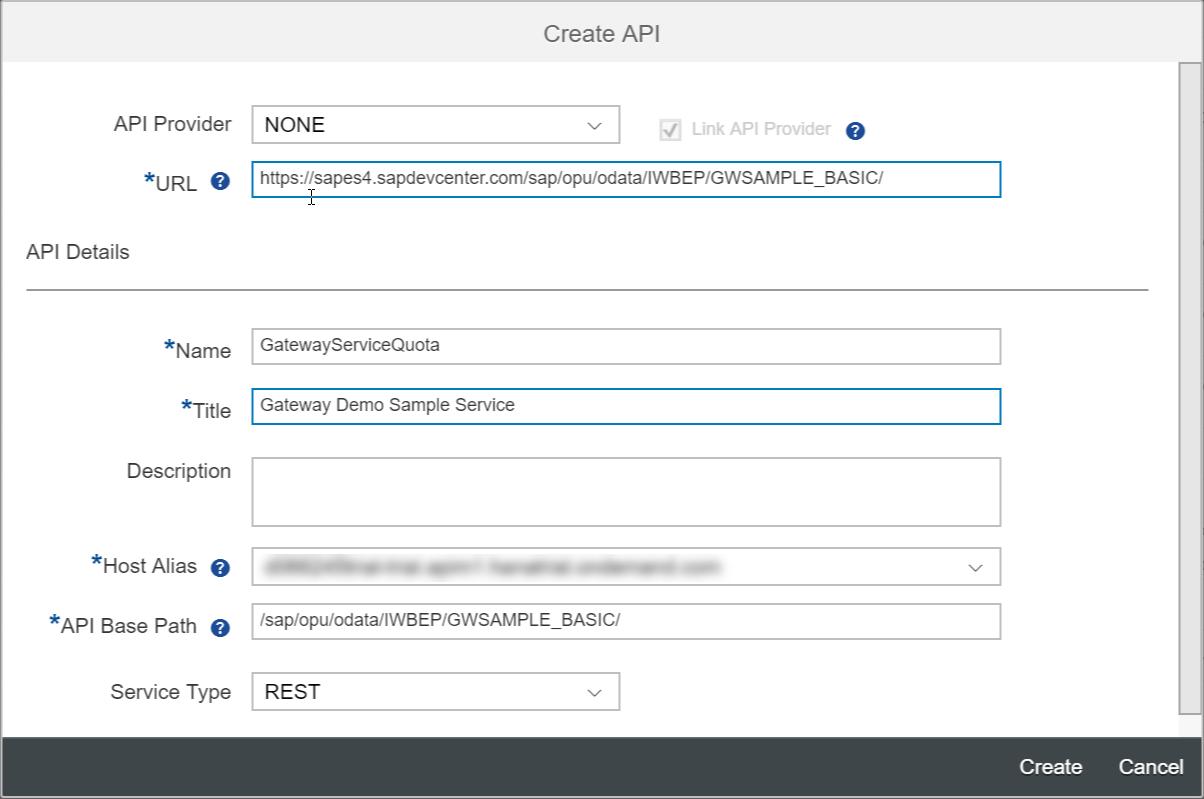 SAP API Management – Rate Limiting API calls per application