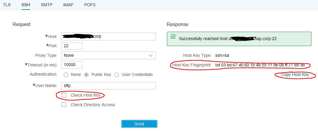 Cloud Integration – How to Setup Secure Connection to sftp