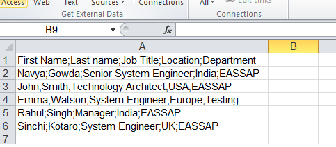 Download the Model Data to a CSV/Excel file in UI5 | SAP Blogs
