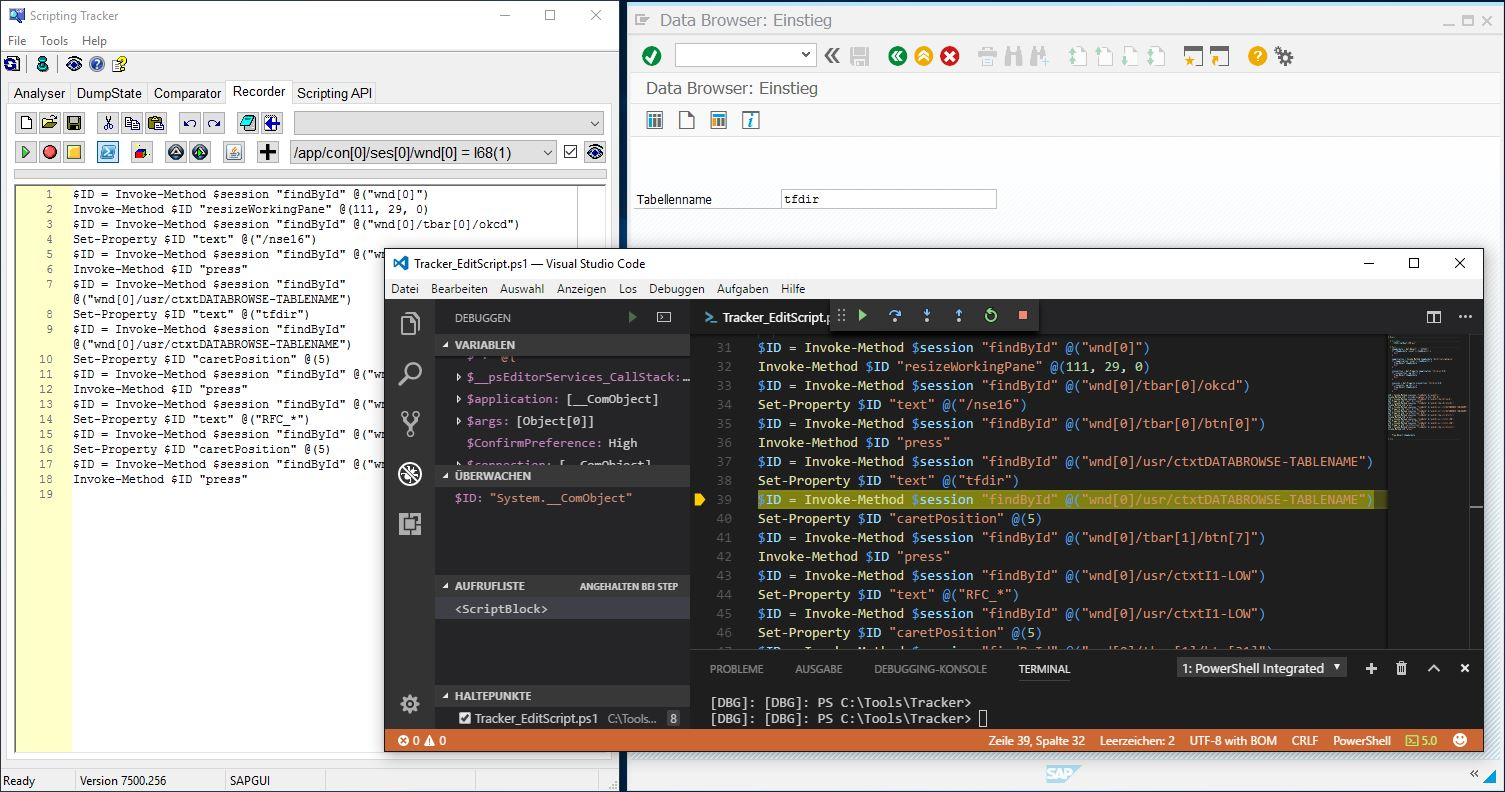SAP GUI Scripting: Visual Studio Code Editor | SAP Blogs