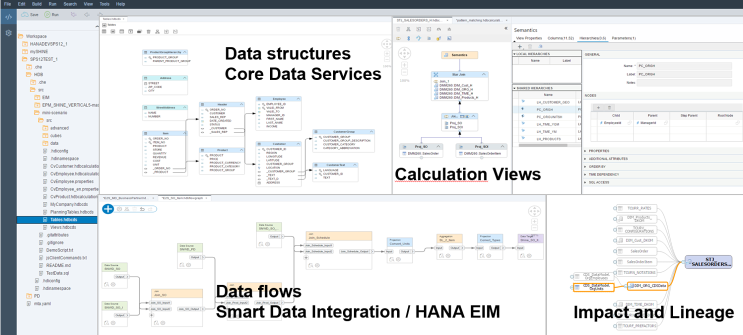 overview of migration of sap hana graphical view models into the new xsa development environment
