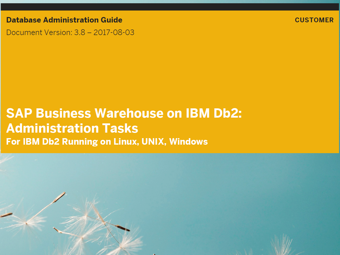 Updated Version of SAP BW Administration Guide Available | SAP Blogs