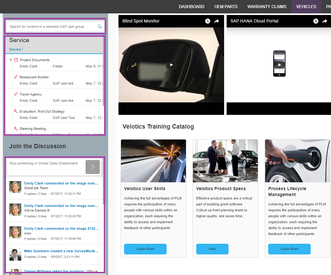 The mentor network employee portal - You Can See The 3 Widgets Embedded In A Freestyle Portal Page Together With Web Content In The Screen Shot Below