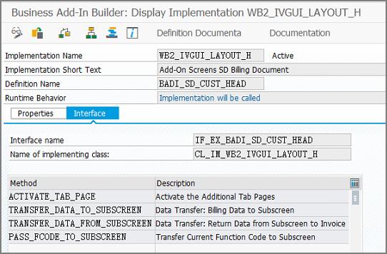 Adding custom tab to billing document   SAP Blogs