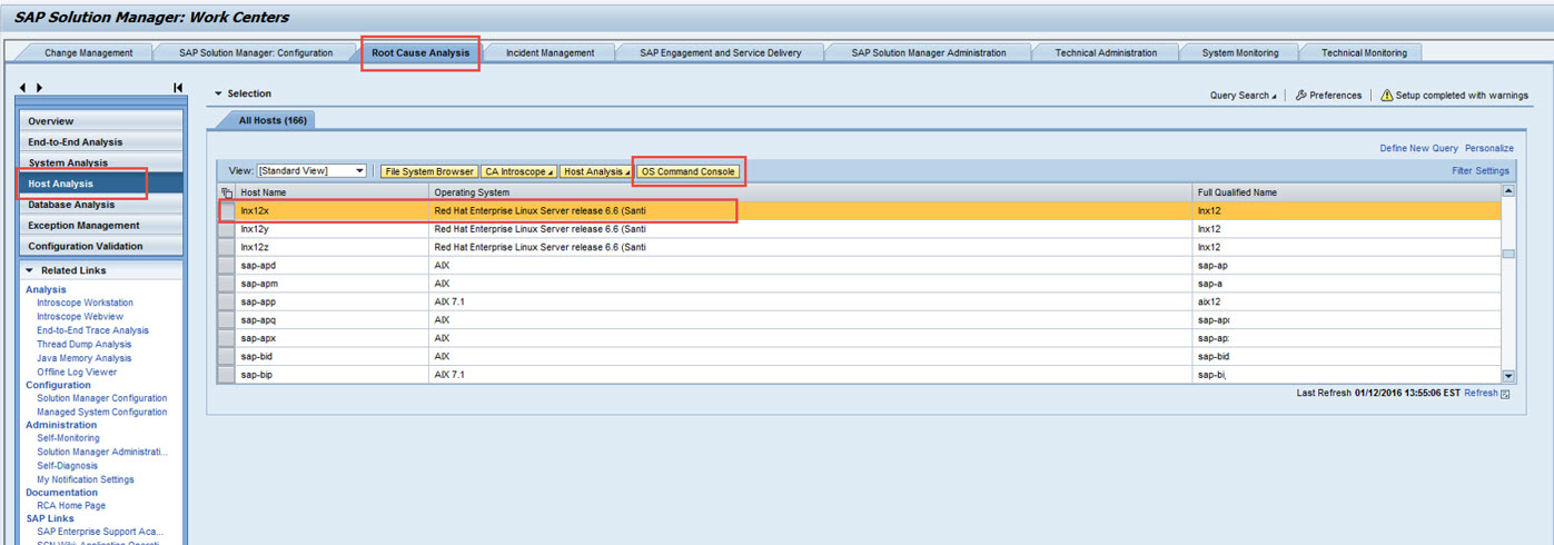How to Configure Remote OS Script Monitoring in Solution Manager 7 1