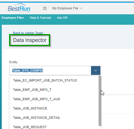 All you need to know about Data Inspector (1705) to view Raw Data in