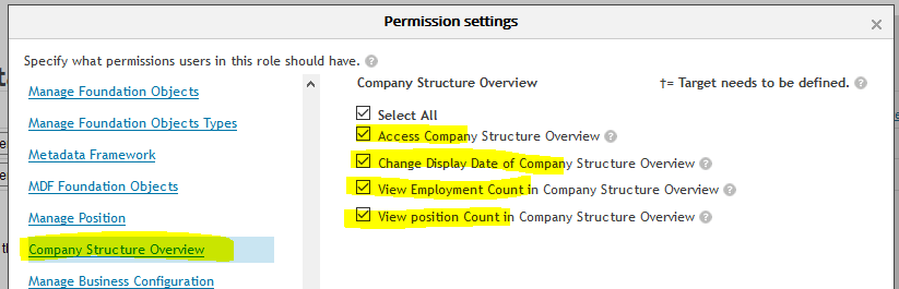 Company Org Structure in Successfactors Employee Central based on