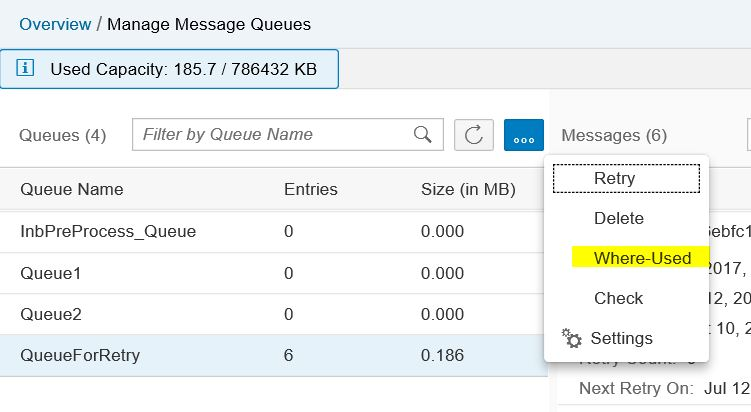 Cloud Integration – Checks in JMS Message Queue Monitor