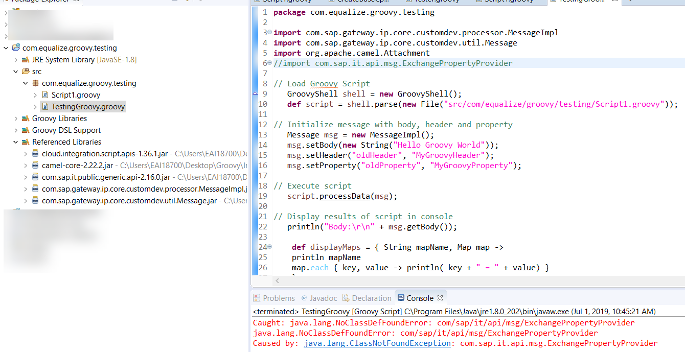 How) Do You Test Your Groovy Scripts? | SAP Blogs