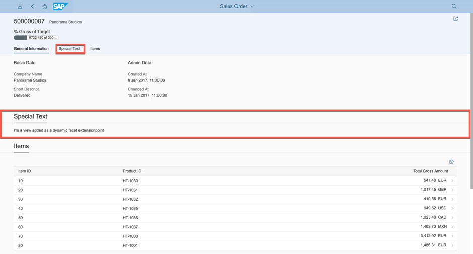 Fiori elements – How to create an Object Page Extension | SAP Blogs