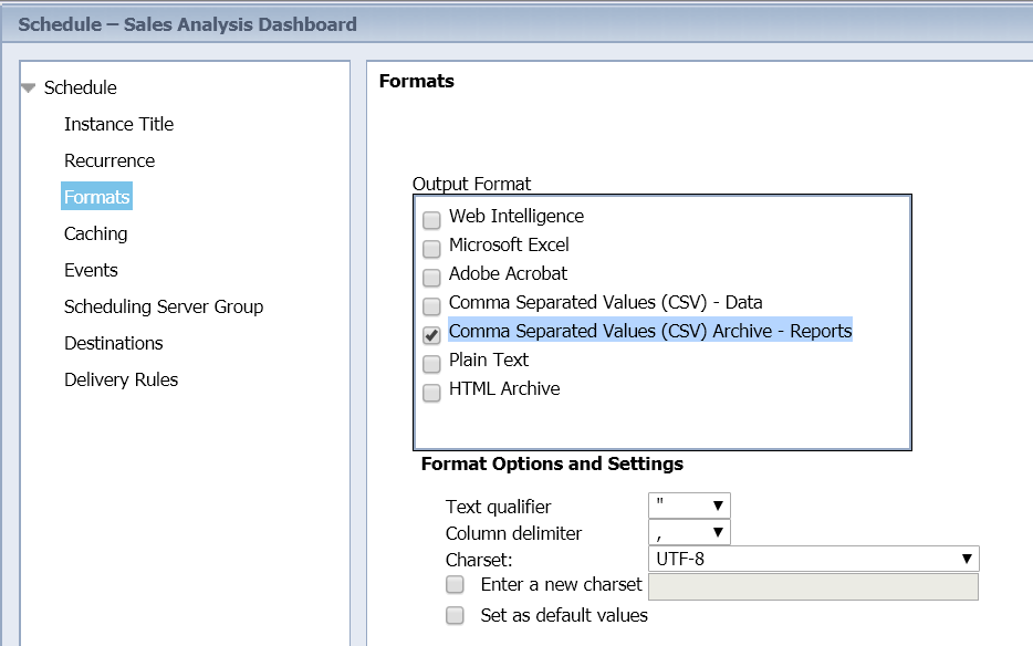 SAP BI 4 2 SP5: What's New In Web Intelligence and Semantic Layer