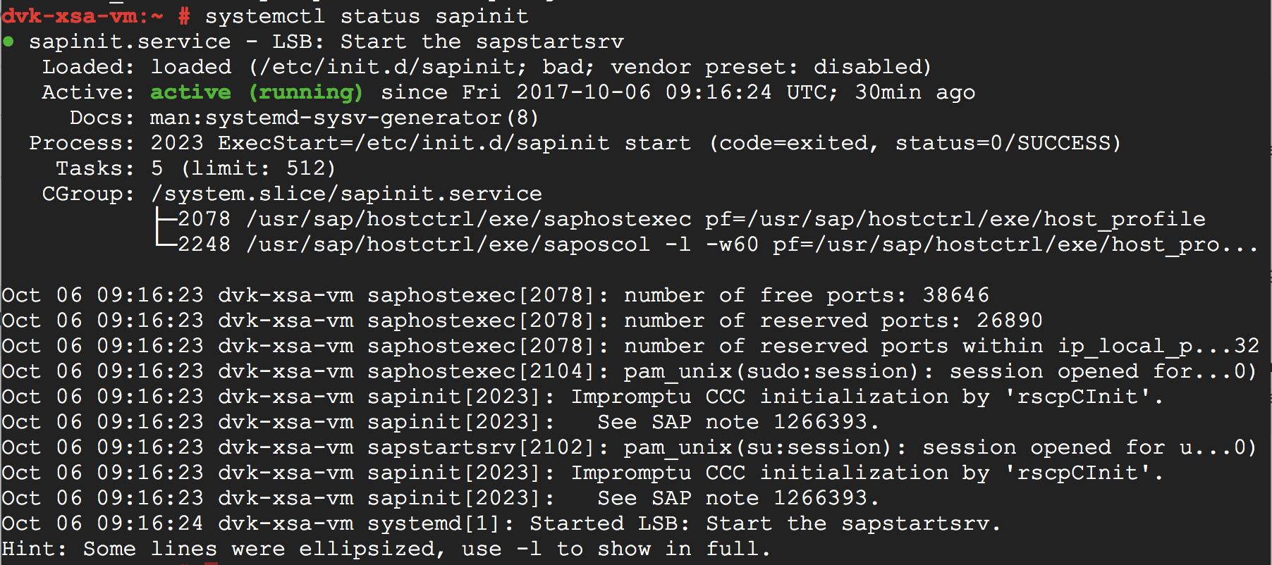 SAP HANA Under The Hood: SAPInit and SAPStartSrv – by the SAP HANA