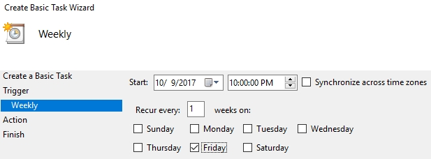 how to use windows scheduler