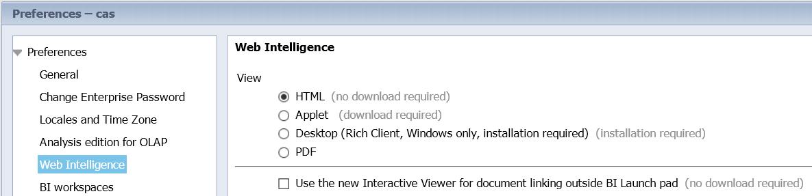 Whats new in SAP BI 4 2 SP5 • BI With Atul