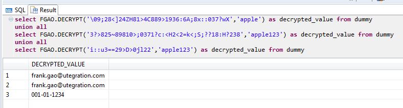 Column Encryption Decryption on HANA | SAP Blogs