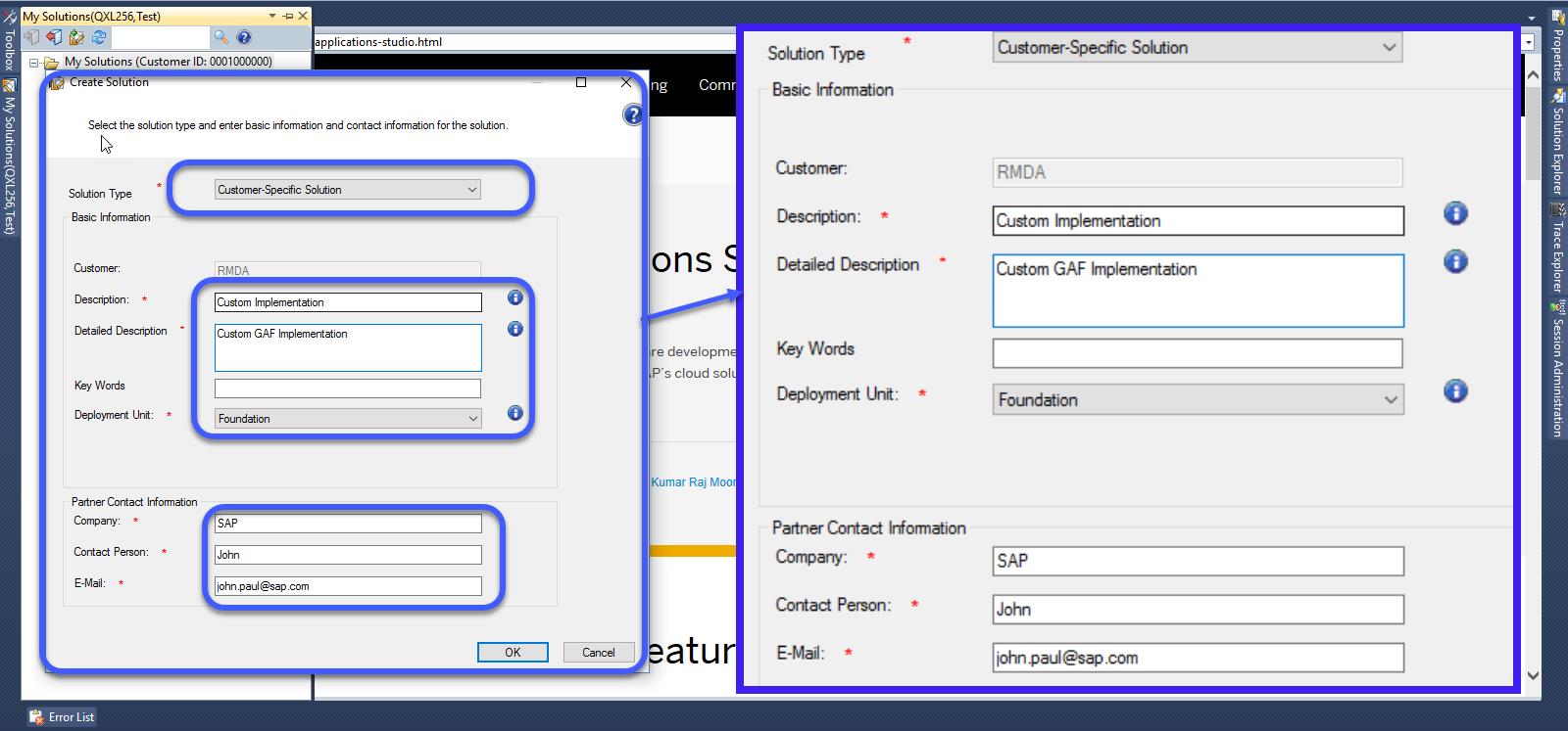 Premise Indicator Words: Utilities Service Order – Adding Inline ISU Link