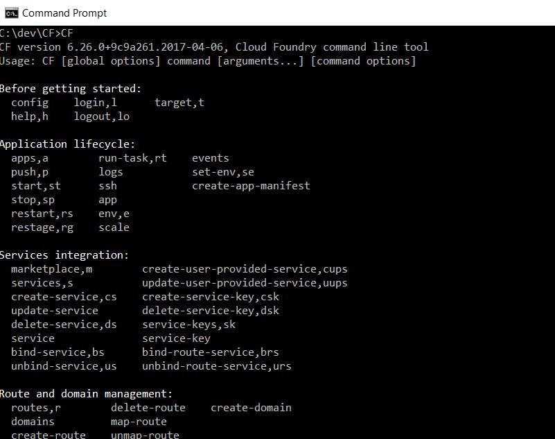 Deploy a container to SAP Cloud Platform CF using Docker Hub
