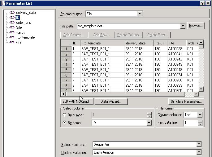 Creating large test data sets with loadrunner | SAP Blogs