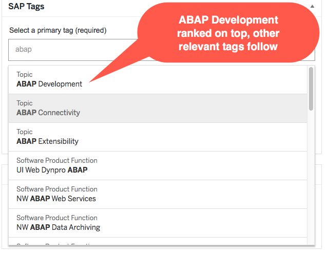Introducing the Next Generation Tag Picker | SAP Blogs