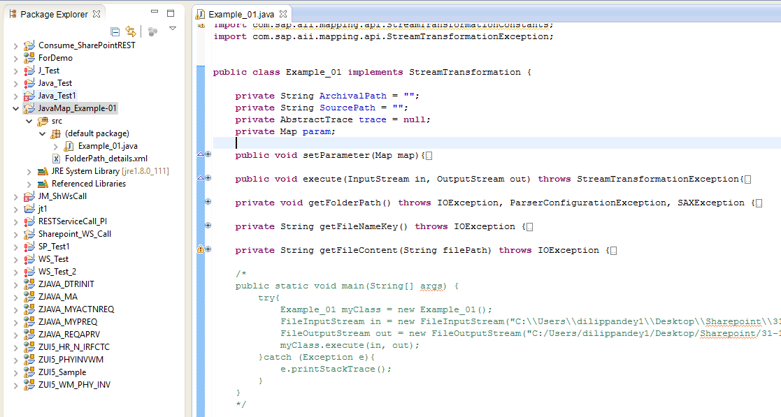 SAP PI Java Mapping to append File Contents   SAP Blogs