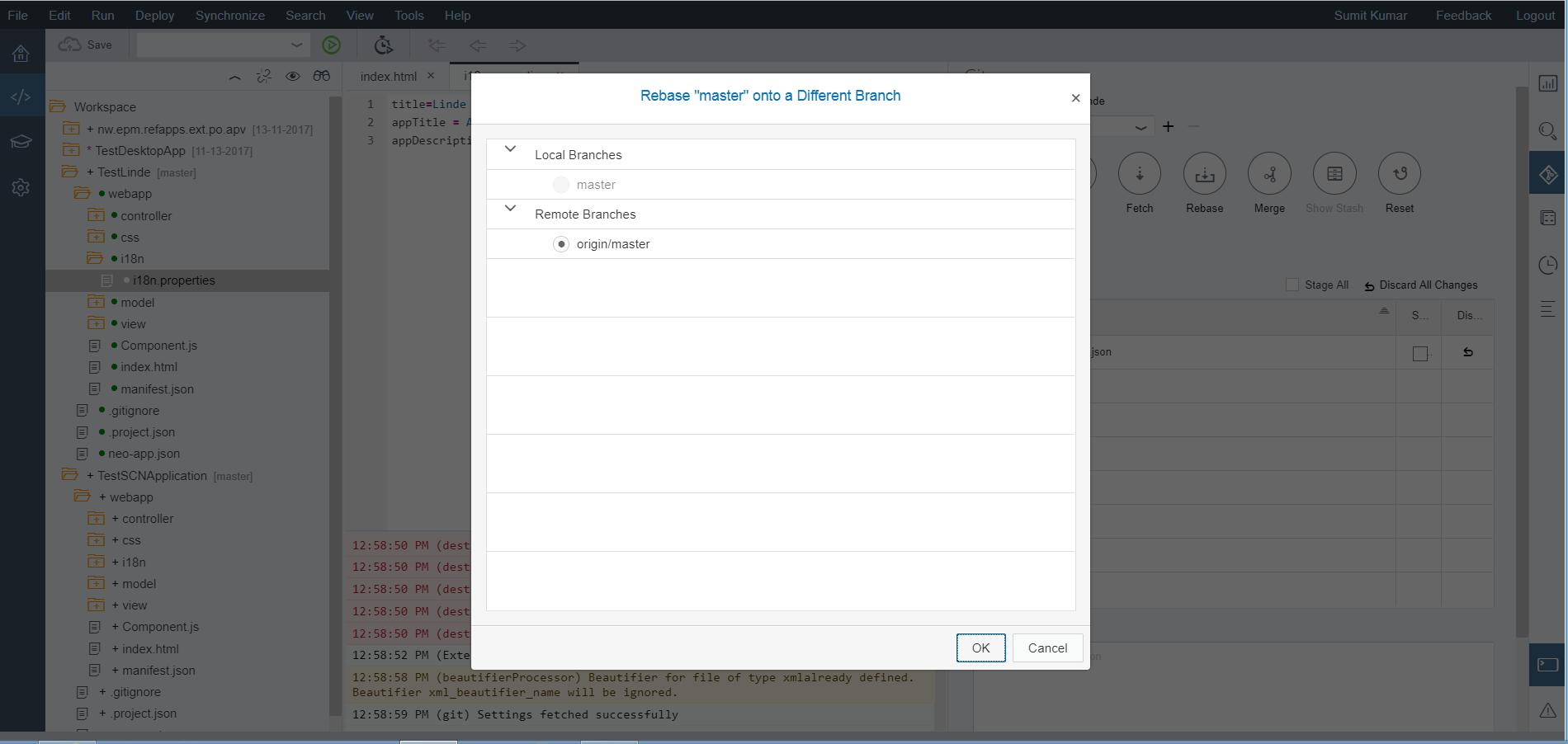 SAP WEBIDE – GIT Configuration   SAP Blogs