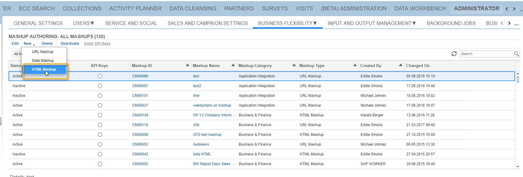 Add SAP Analytics Cloud Report as a Mash-up in SAP Hybris