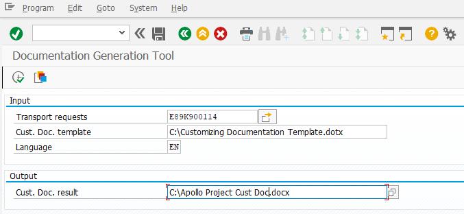 SAP Customizing Documentation Generation Tool | SAP Blogs