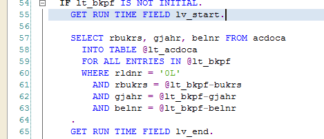 The performance of open SQL as in ABAP 7 52 | SAP Blogs