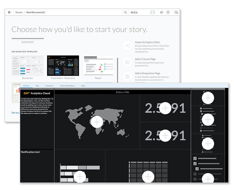 what's new in sap analytics cloud and sap digital boardroom, Presentation templates