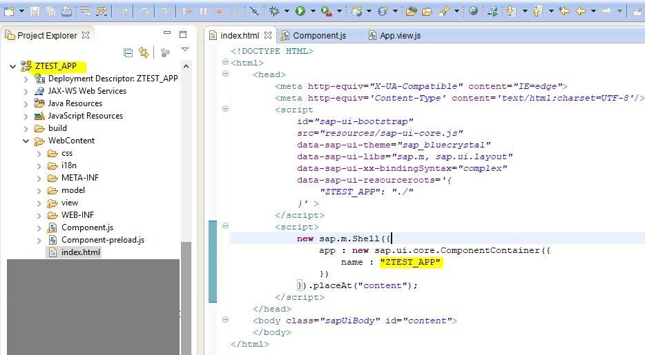 Create a Fiori app using Eclipse   SAP Blogs