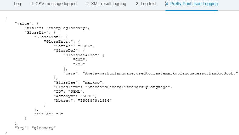Pretty print debug messages using Groovy script | SAP Blogs