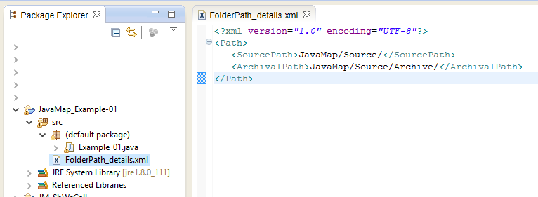 SAP PI Java Map to return file content in target message