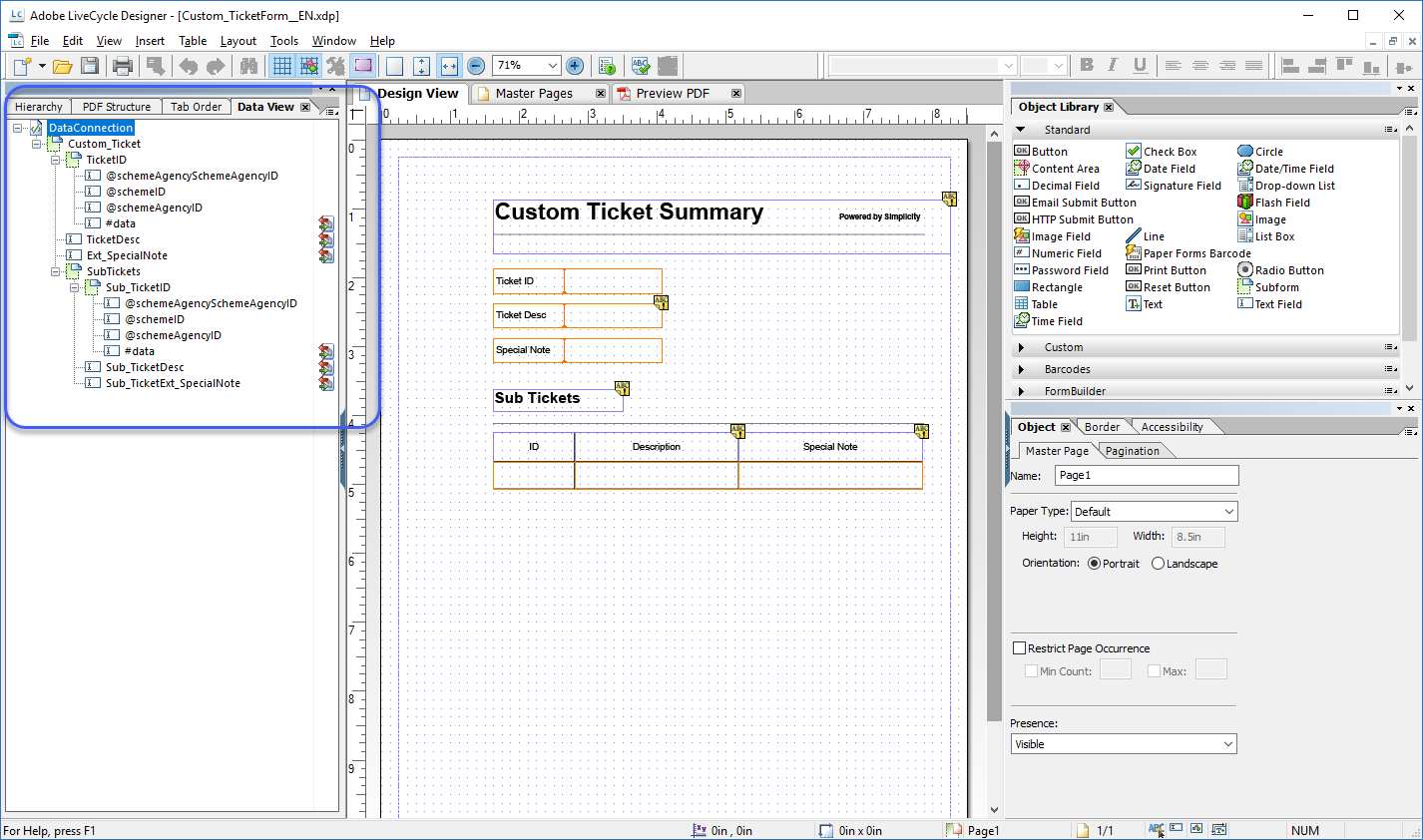 Custom Pdf Summary For C4c Ticket Sub Tickets Sap Tips And