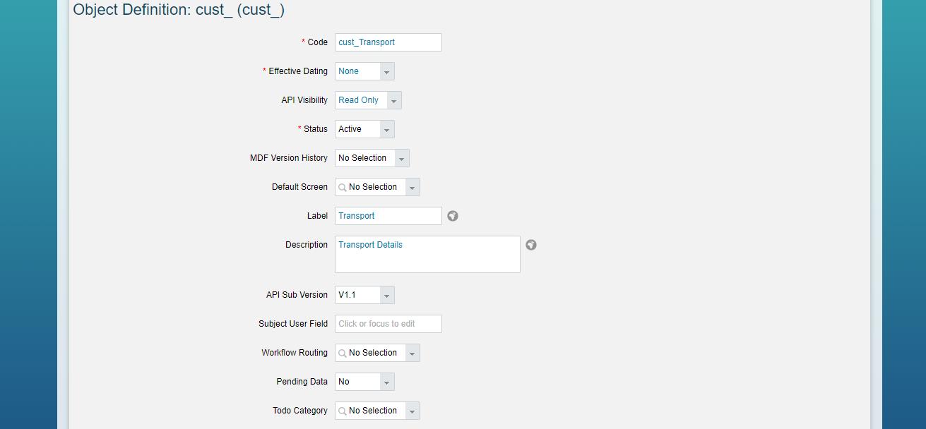 SAP SuccessFactors: Adding Custom UI Screen | SAP Blogs
