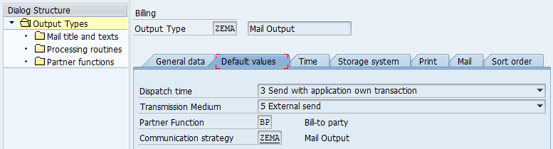 SD Invoice Output Type External Email To Multiple Customer - Invoice mail