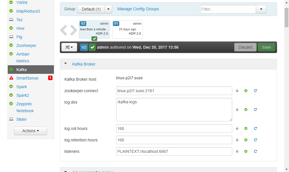 Send your Raspberry Pi sensor data to SAP Vora via Apache Kafka