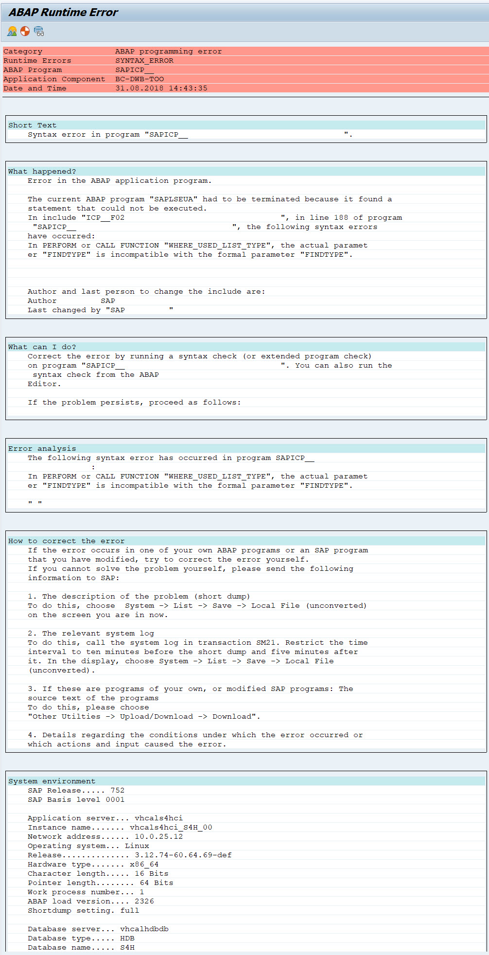 Sap S 4hana 1709 Fully Activated Appliance Create Your Automate Remote Start Wiring Diagram Tony