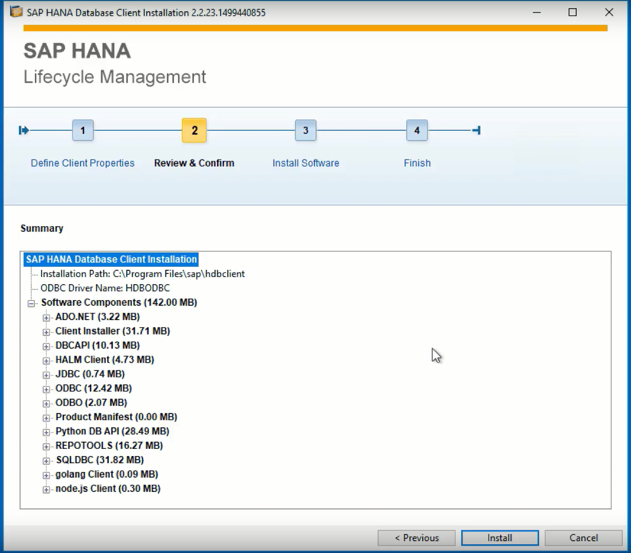 Sap hana 20 client installation and update by the sap hana the python db api has been included as well from the very early days not as supported database client this was only introduced in the latest sap hana 20 malvernweather Images