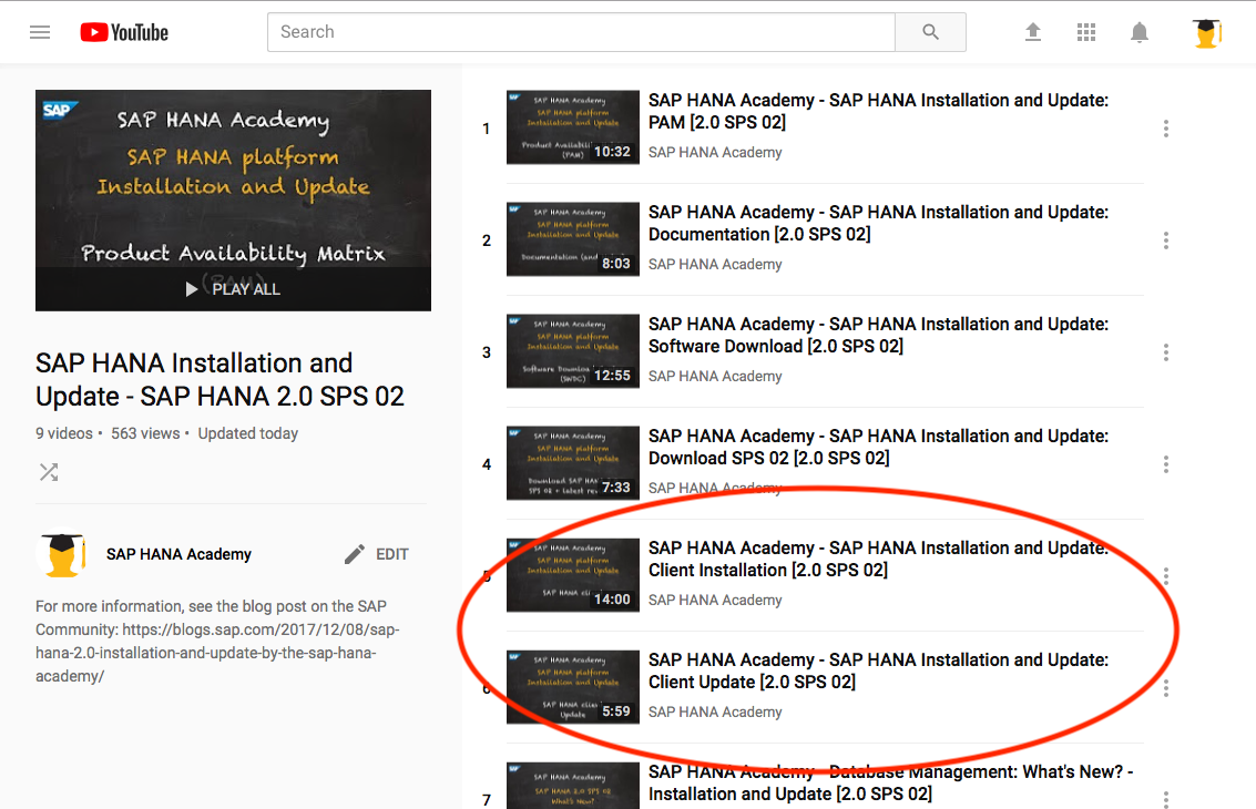 SAP HANA 2 0 Client Installation and Update – by the SAP