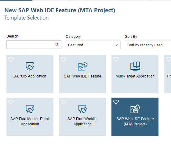 Create your own sap web ide template getting started for How to create your own blog template