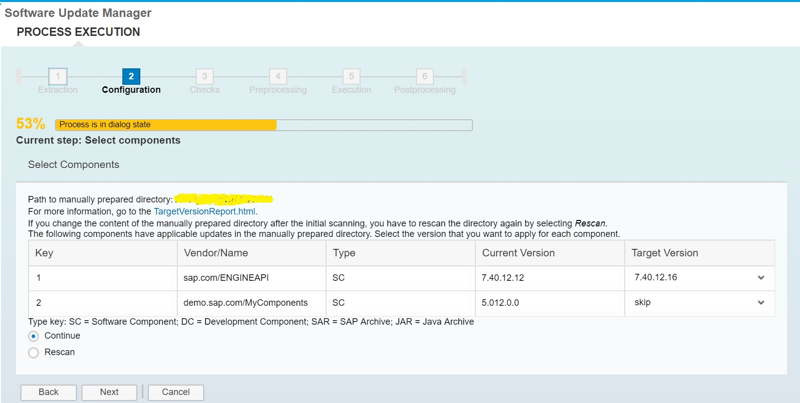 Upgrade Single Java Component Patch Level Using Sum Tool Sap Blogs Updated Wiring Diagram Click On Components For Write Ups Next
