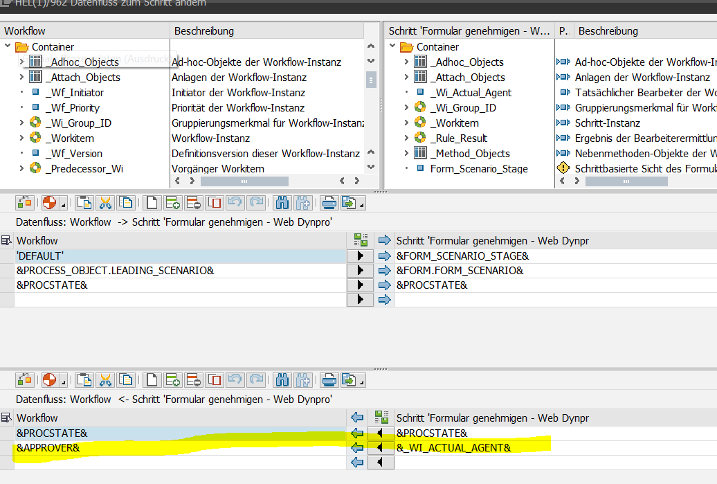 Processes & Forms: Set latest approver instead of WF-Batch as last ...