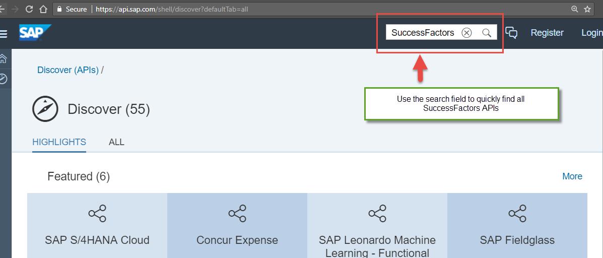 Part 6: Discover, Explore and Manage SAP SuccessFactors APIs in SAP
