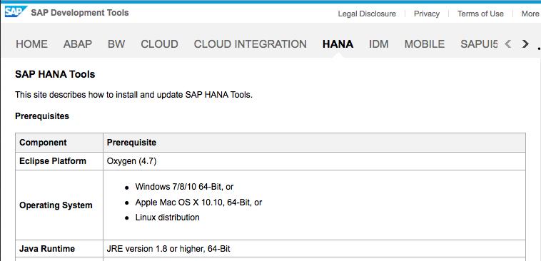 SAP HANA 2 0 Studio Installation and Update – by the SAP HANA