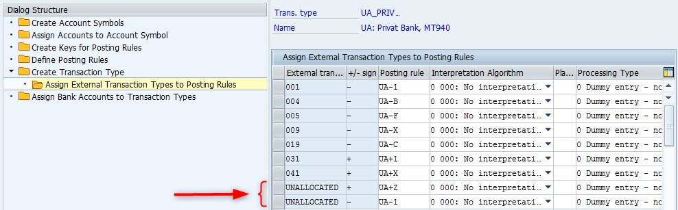 Default posting rules for bank statement | SAP Blogs