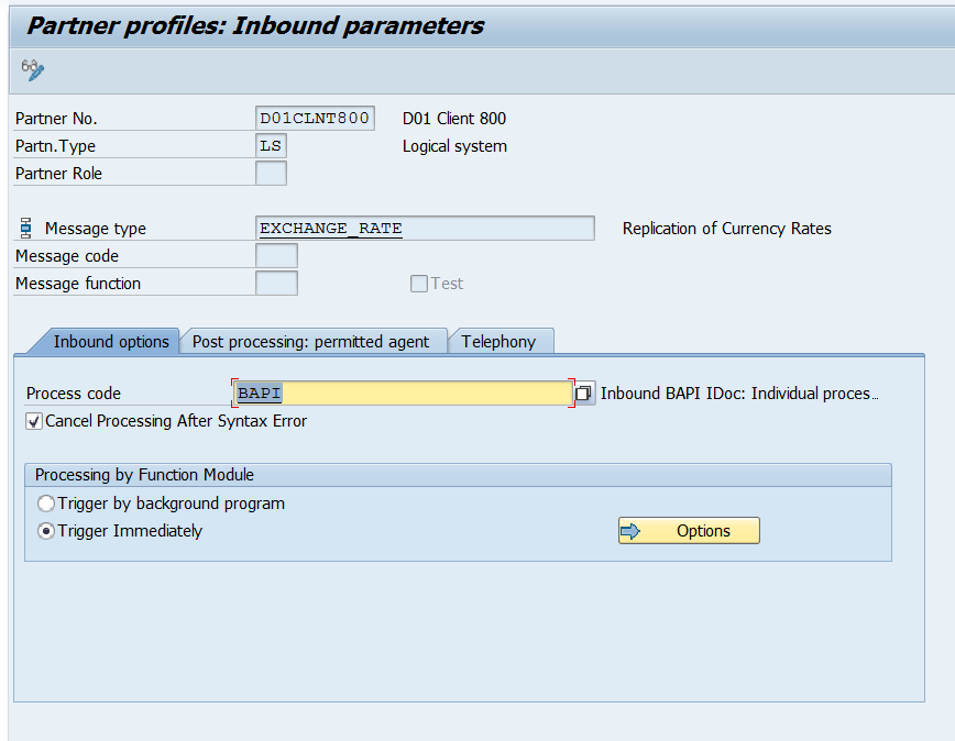 Exchange Rate Sync using IDoc | SAP Blogs