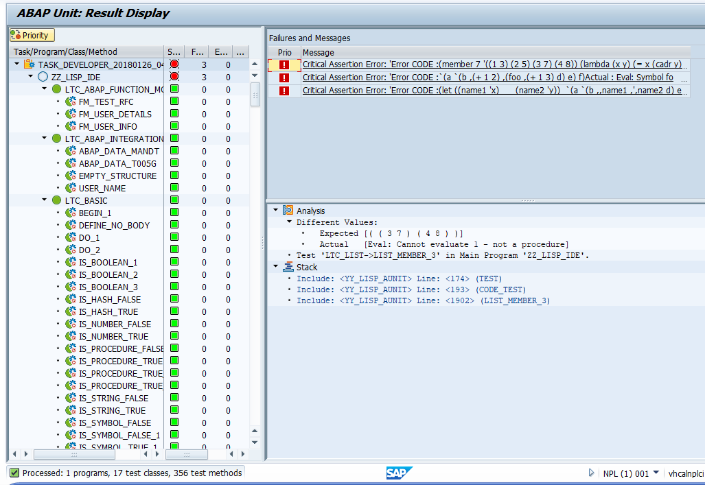 Working with ABAP Unit Tests | SAP Blogs
